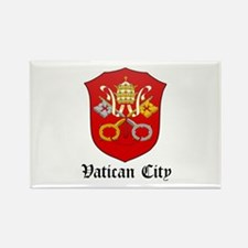 Vatican Coat of Arms Seal Rectangle Magnet