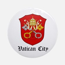 Vatican Coat of Arms Seal Ornament (Round)