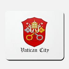 Vatican Coat of Arms Seal Mousepad