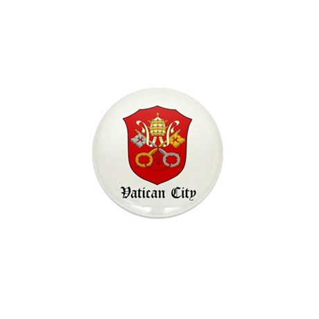 Vatican Coat of Arms Seal Mini Button (10 pack)