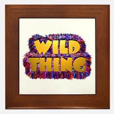 Wild Thing 2 Framed Tile