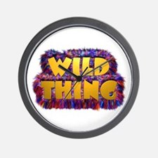 Wild Thing 2 Wall Clock