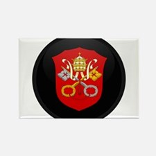 Coat of Arms of Vatican City Rectangle Magnet