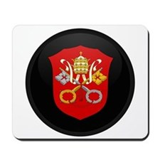 Coat of Arms of Vatican City Mousepad