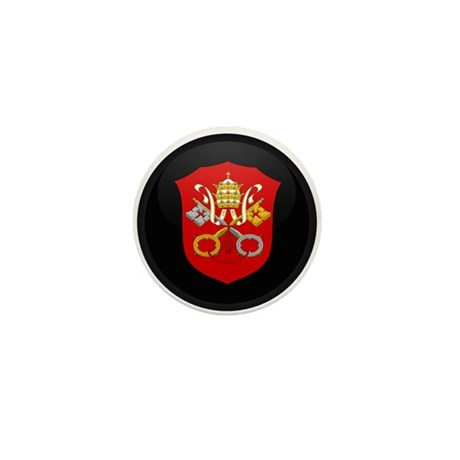 Coat of Arms of Vatican City Mini Button