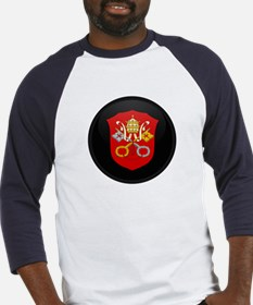 Coat of Arms of Vatican City Baseball Jersey