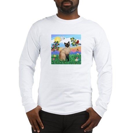 Bright Life / Siamese Long Sleeve T-Shirt