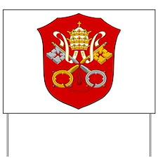 Vatican City Coat of Arms Yard Sign