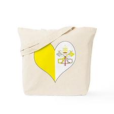 I Love Vatican City Tote Bag