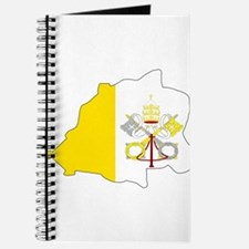 Vatican City Flag Map Journal