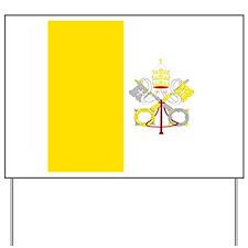 Vatican Yard Sign