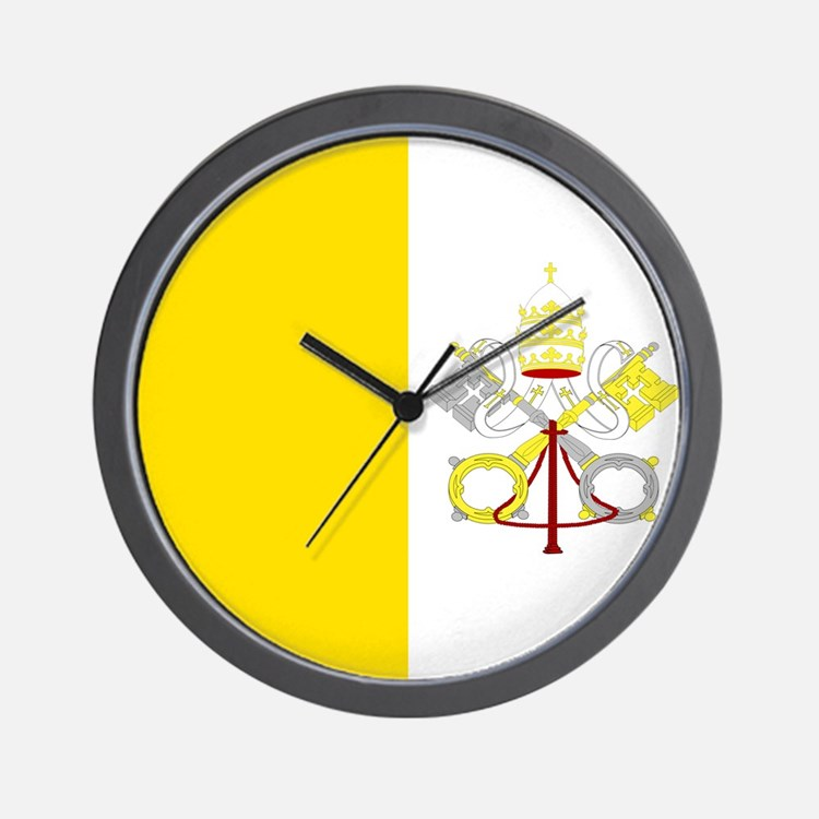 Vatican Wall Clock