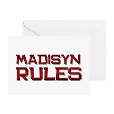 madisyn rules Greeting Card