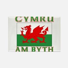 Wales for Ever Rectangle Magnet (100 pack)