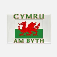 Wales for Ever Rectangle Magnet