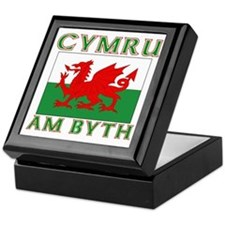 Wales for Ever Keepsake Box