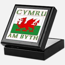 Wales for Ever Keepsake Box