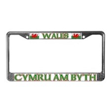 Wales for Ever License Plate Frame