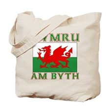 Wales for Ever Tote Bag
