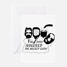 hockey gods Greeting Card