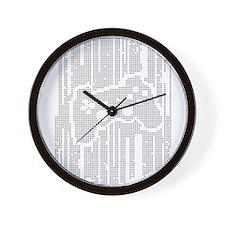 Dot Matrix Pad Wall Clock