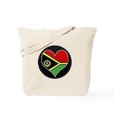 I love vanuatu Flag Tote Bag