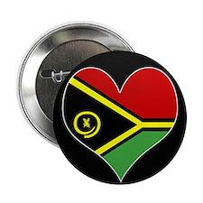 """I love vanuatu Flag 2.25"""" Button"""