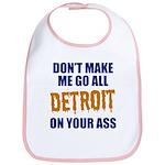 Detroit Baseball Bib