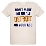 Detroit Baseball Organic Kids T-Shirt