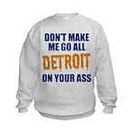 Detroit Baseball Kids Sweatshirt