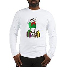 Fainting Goat Christmas Gifts Long Sleeve T-Shirt