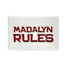 madalyn rules Rectangle Magnet