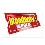 BroadwayWorld 2017 Logo Postcards (Package of 8)