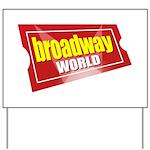 BroadwayWorld 2017 Logo Yard Sign