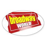 BroadwayWorld 2017 Logo Sticker