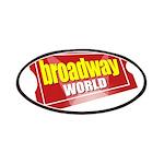 BroadwayWorld 2017 Logo Patch