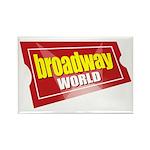 BroadwayWorld 2017 Logo Magnets