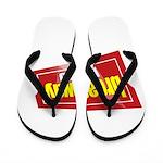 BroadwayWorld 2017 Logo Flip Flops