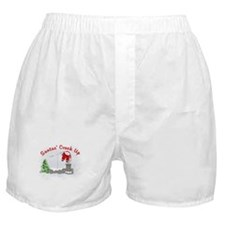 Santas' Crack Up Boxer Shorts