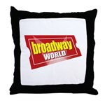 BroadwayWorld 2017 Logo Throw Pillow