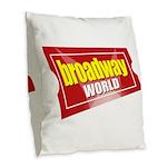 BroadwayWorld 2017 Logo Burlap Throw Pillow