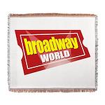 BroadwayWorld 2017 Logo Woven Blanket