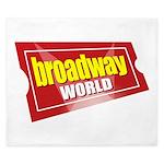 BroadwayWorld 2017 Logo King Duvet