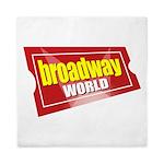 BroadwayWorld 2017 Logo Queen Duvet