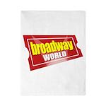 BroadwayWorld 2017 Logo Twin Duvet Cover