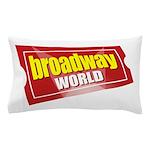 BroadwayWorld 2017 Logo Pillow Case
