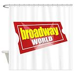 BroadwayWorld 2017 Logo Shower Curtain