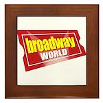BroadwayWorld 2017 Logo Framed Tile