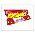 BroadwayWorld 2017 Logo Posters