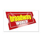 BroadwayWorld 2017 Logo Wall Decal